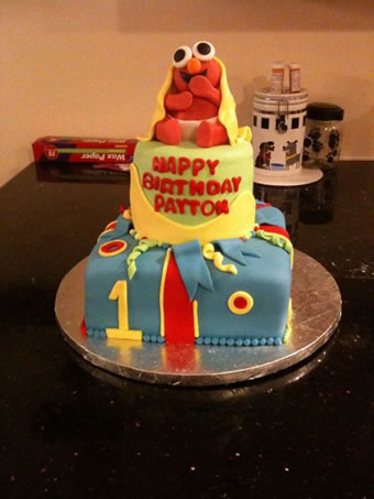 Looking for a baby elmo cake Land of Cakes New York makes fondant