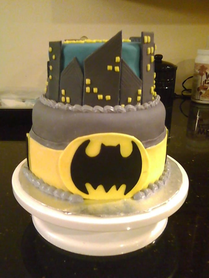Cake Gallery: cakes » Birthday Parties » Batman birthday cake