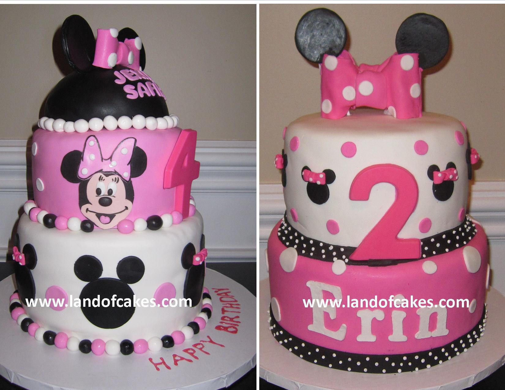 Birthday Cake Ideas Minnie Mouse : Cake Gallery: cakes   Birthday Parties   Minnie Mouse cakes