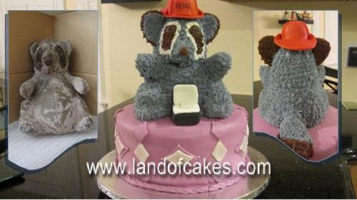 Custom Teddy Bear cake