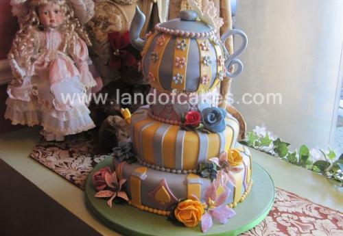 Custom Teapot cake